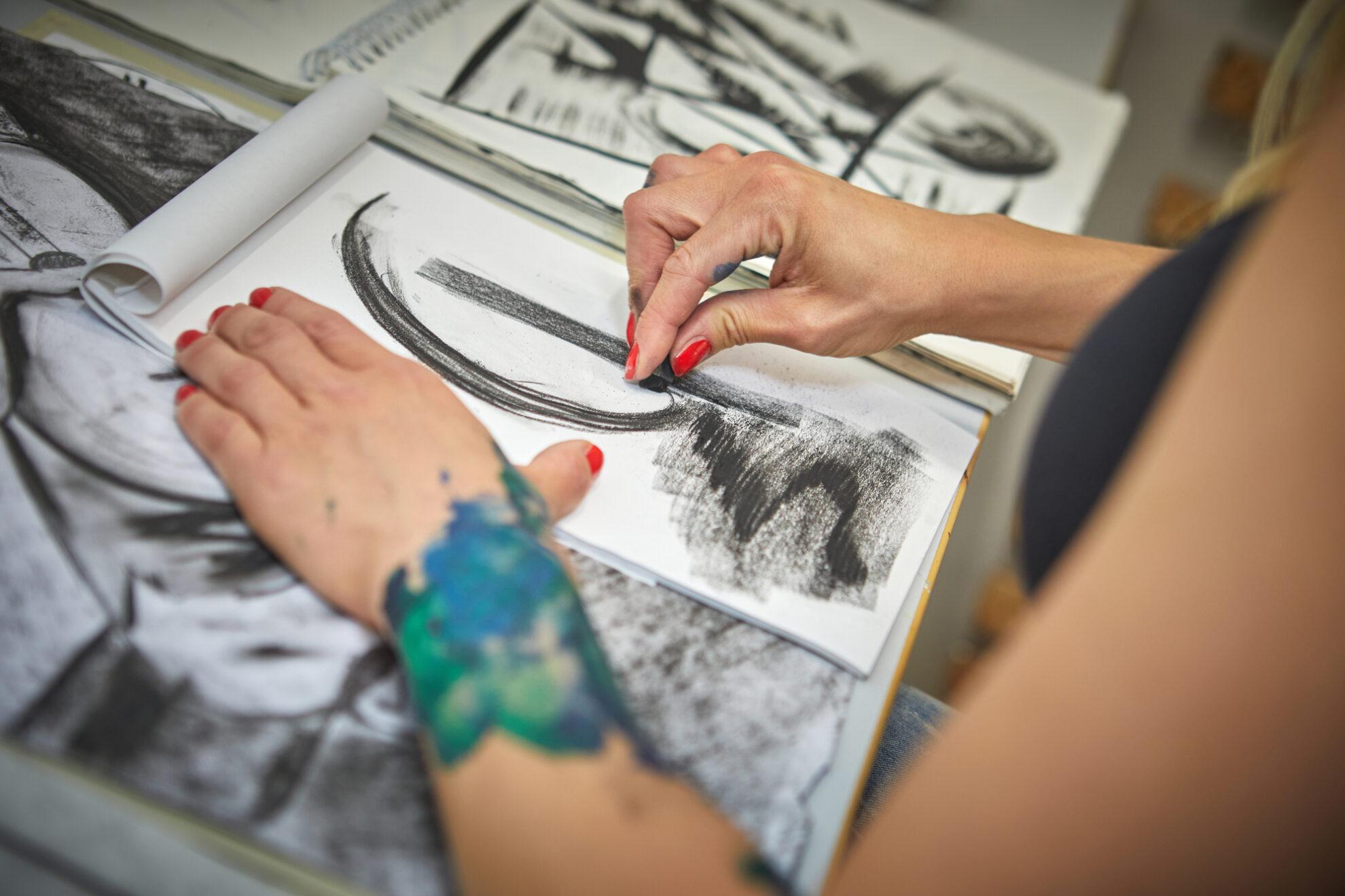 Kultur Kreativwirtschaft Zugspitz Region Zeichnen