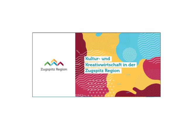 Flyer Kultur- und Kreativwirtschaft Garmisch-Partenkirchen